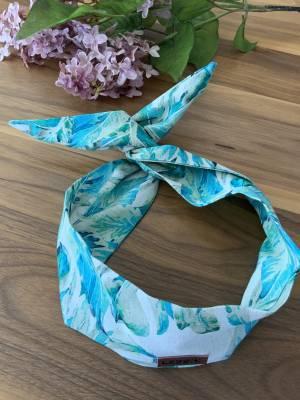Bandeau pour femme avec broche intégré lin